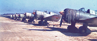 World War II Fighter Planes: Kimpo, Korea 1945