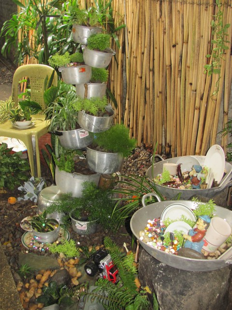 Recycled plant containers flickr photo sharing - Recycled containers for gardening ...