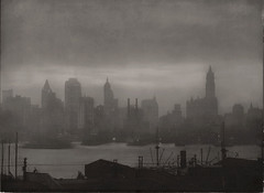 Waterfront, New York 1921, by E.O. Hoppe