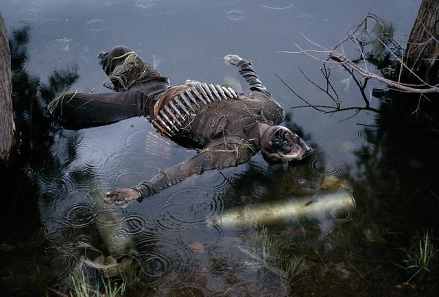 Dead Afghan Soldier, Jalalabad, Afghanistan, 1992, by Steve McCurry