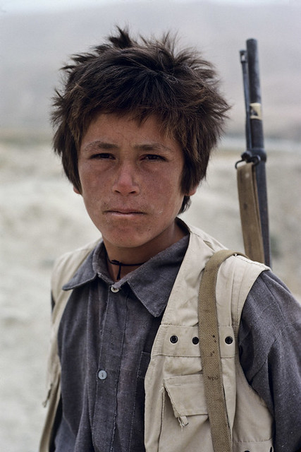 Young fighter, Kabul, Afghanistan, 1989, by Steve McCurry