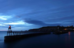Pre-Dawn, Outer Pier at Whitby
