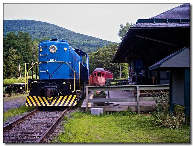 Catskill Mountain Railroad New York State Tripomatic