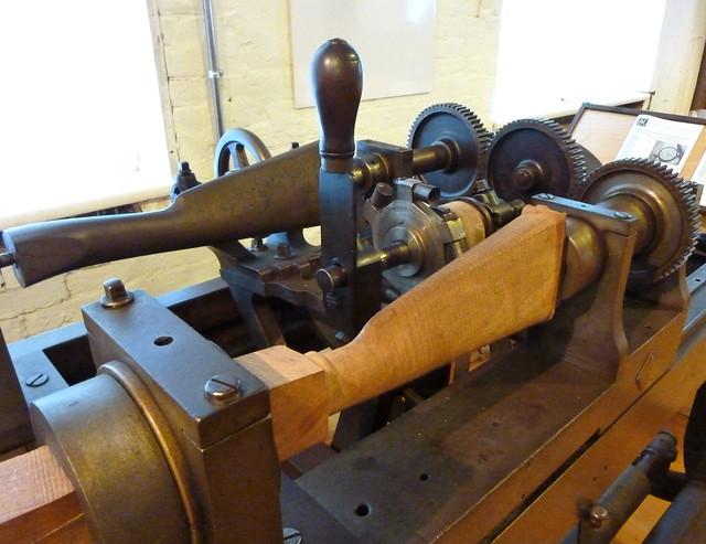 gunstock copying machine