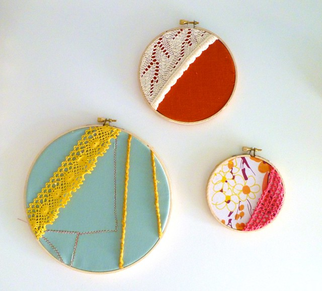 Embroidery hoop fabric art flickr photo sharing