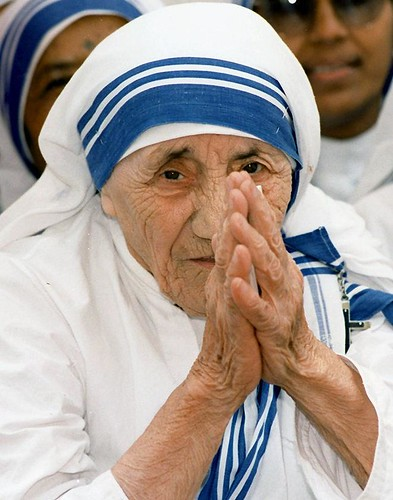 Born exactly a century ago - Mother Teresa