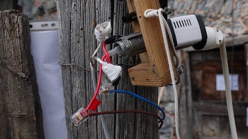 instalación, cables batería -paneles solares