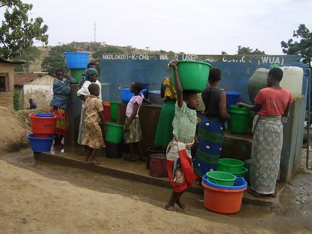 Water kiosk, BLANTYRE, MALAWI / Credit: Charles Mpaka/IPS
