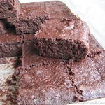 Rote Be(e)te Brownies