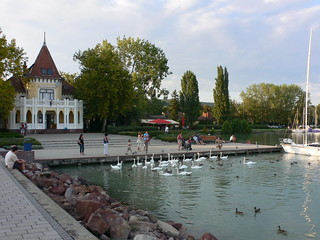 Révfülöp at Lake Balaton, Hungary
