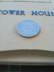 Photo of William Lionel Wyllie blue plaque
