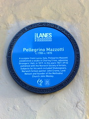 Photo of Pellegrino Mazzotti blue plaque