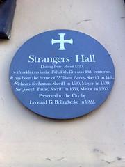 Photo of William Barley, Nicholas Sotherton, and Joseph Paine green plaque