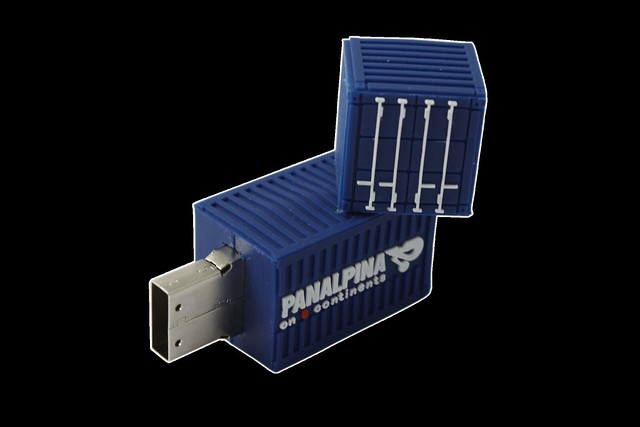 Shipping Container Flash Drive Flickr Photo Sharing