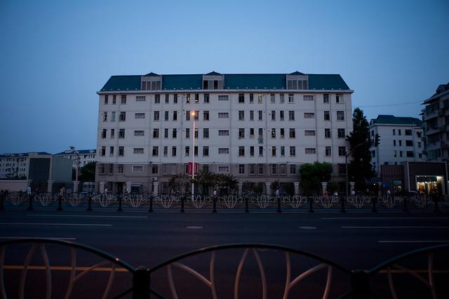 A building on the yaohua road 耀华路上的一栋房子