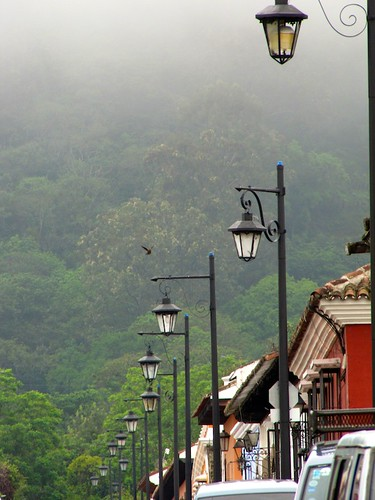 Antigua Style Street Lighting by Rudy A. Girón