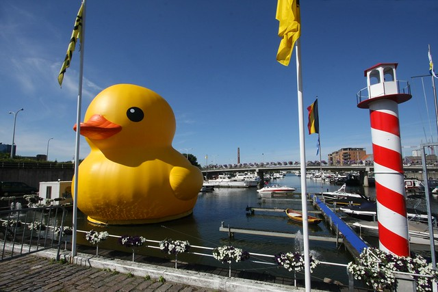 The Great Yellow Duck