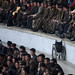Disabled Chair during a football match - Pyongyang North Korea