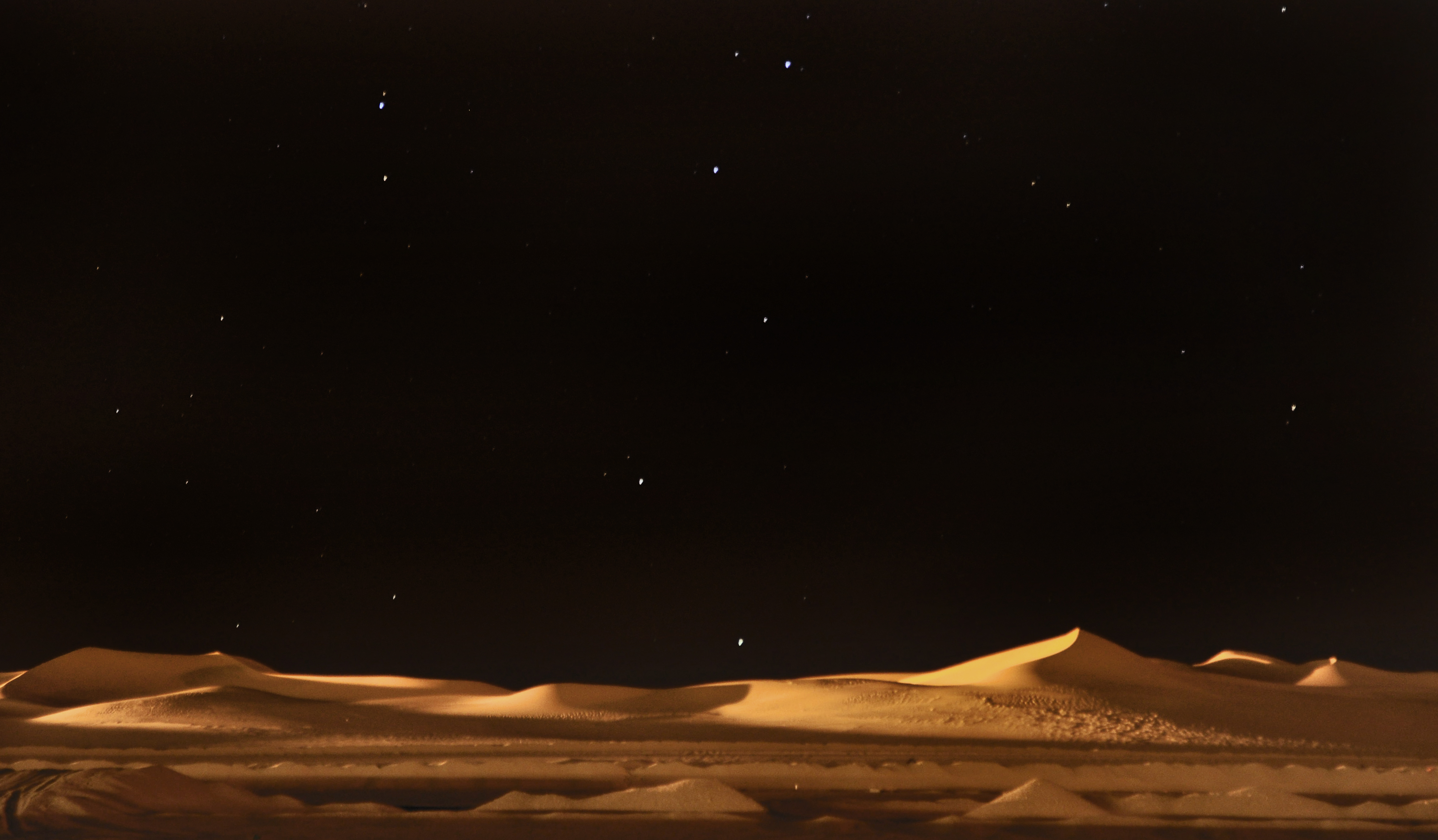 Sahara Algerian Desert at night | Flickr - Photo Sharing!