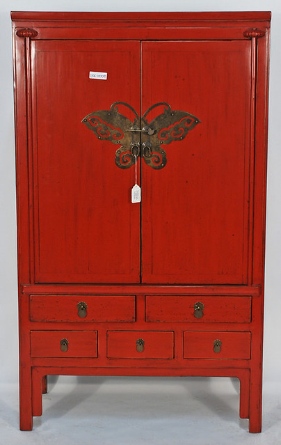 5413820917 e8daf01f65 for Antique red kitchen cabinets