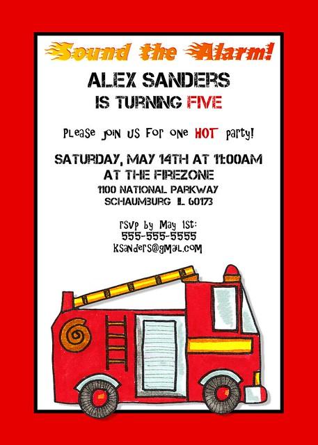 Truck Birthday Invitation as great invitations sample