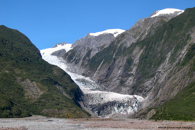 Franz Josef Glacier (Ka Roimata o Hinehukatere), Westland National Park, South Island, New Zealand
