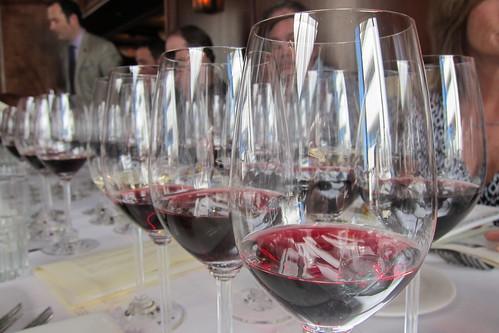 McCormick & Schmick's: Wine in Glasses