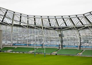 Inside View Of The Aviva Stadium