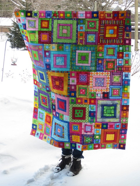 Crayon box quilt flickr photo sharing - Alfombras de patchwork ...