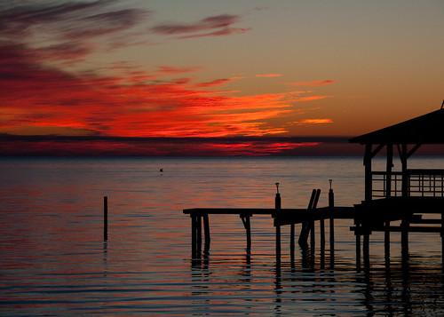 sunset mobilebay