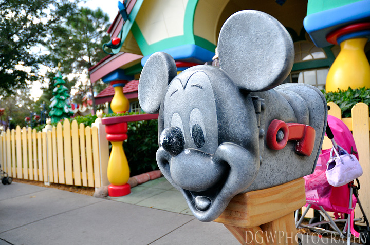 Toon Town - Mickey's House