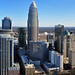 Charlotte skyline from The Vue condos by James Willamor
