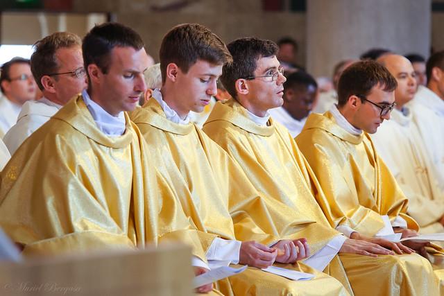 Ordination sacerdotale de Côme, Philippe, Victor et Vincent - 24 juin 2017