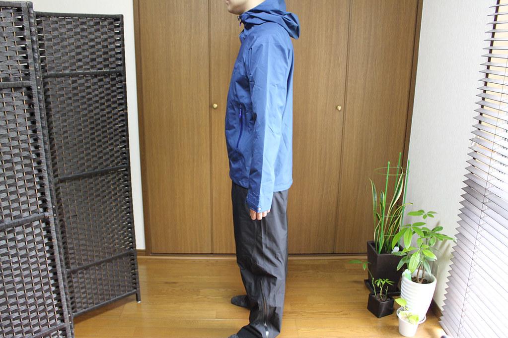 Marmot Comodo Jacket and Pant 横から