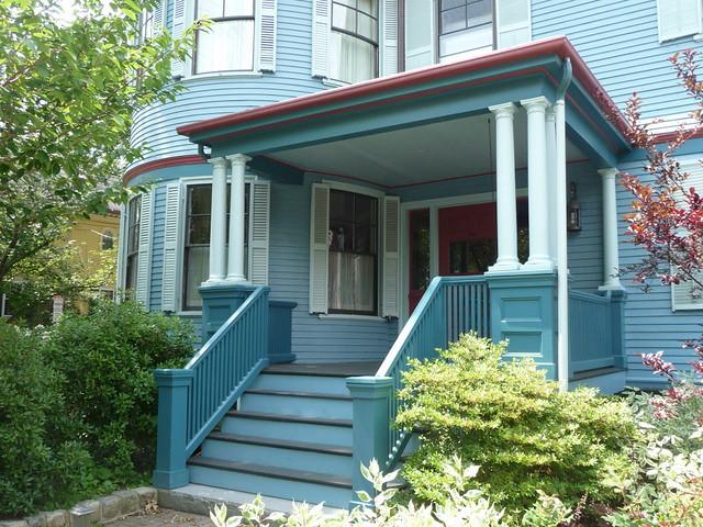"Avon Hill - ""Blue"" - Raymond Street, Cambridge, MA"