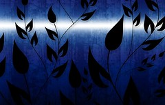 Climbing Vines Wallpapers in Light Beam Blue by BackgroundsEtc