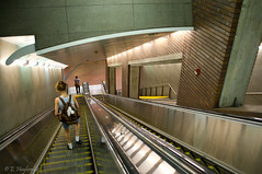 subway, interior design, escalator,