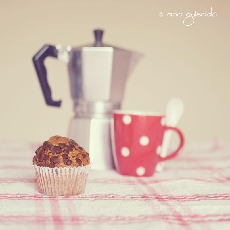 Café y magdalena