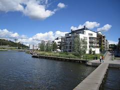 'Green' community, Hammarby