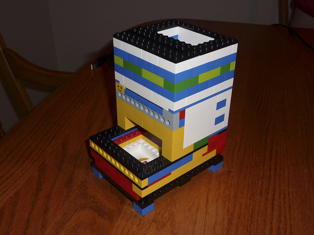 Lego Dice Tower Flickr Photo Sharing