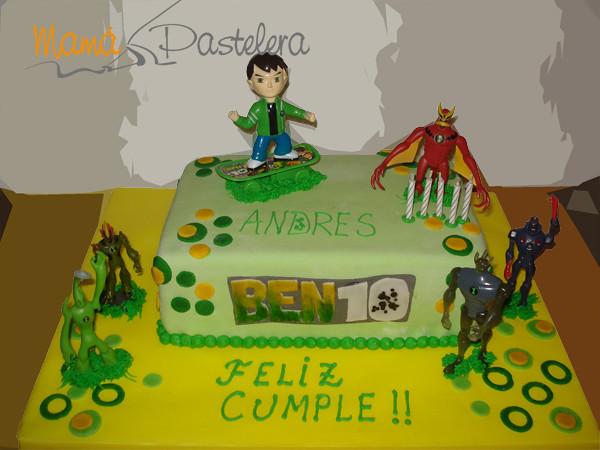 Tortas Infantiles Ben 10 Torta Decorada Personaje Pelautscom
