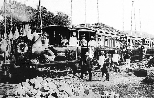 L'inauguration de la ligne de Tramway Saigon Cholon en 1881