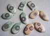New Decal Pieces and Pendants by artisanclay