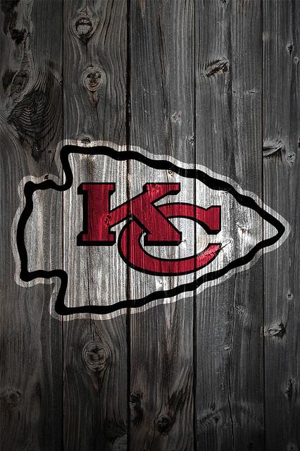 Kansas City Chiefs Wood iPhone 4 Background | Flickr ...