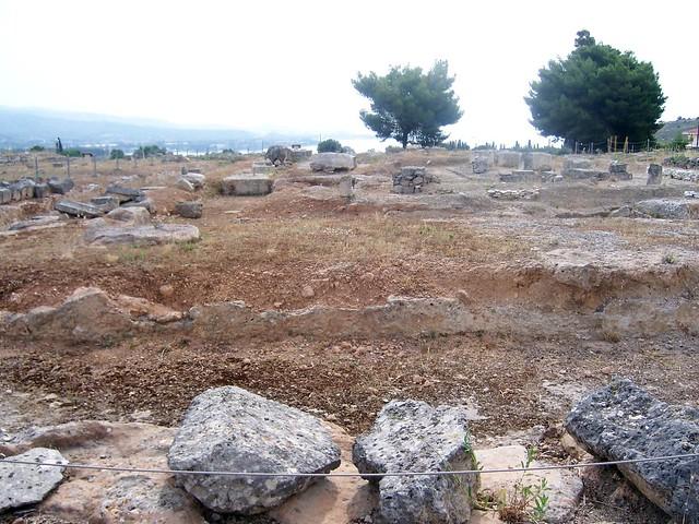 Doric temple to Poseidon, Ancient Isthmia