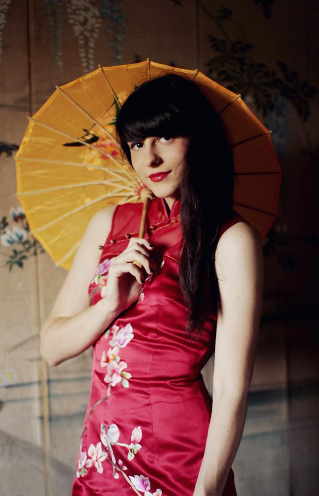 The Cherry Blossom Girlmy Little China Girl