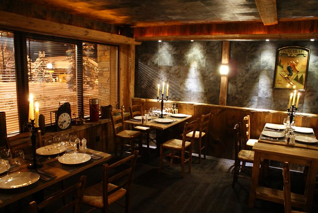 Restaurant L'OSTERIA (Courchevel 1850)