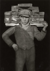 Bricklayer, by August Sander 1928