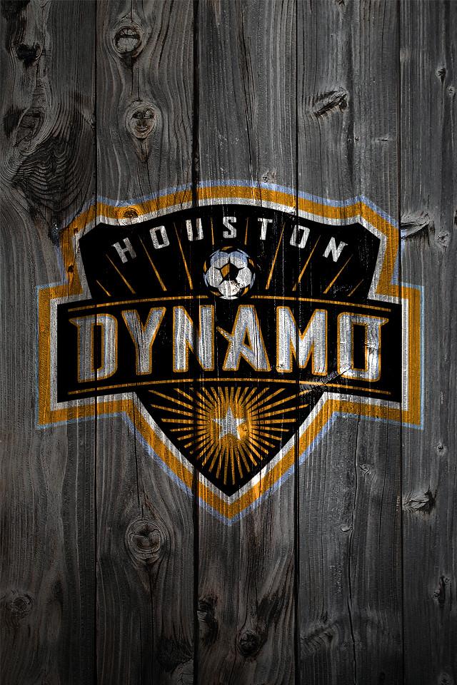 Houston Dynamo Wood IPhone 4 Background
