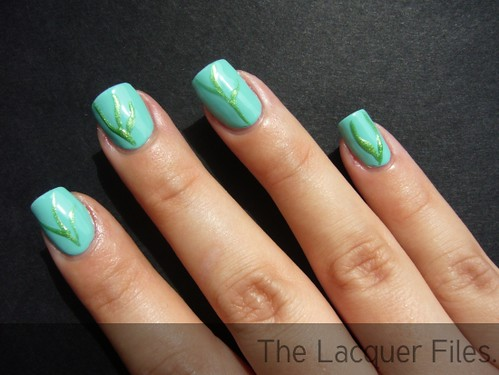 Simple Line Nail Art : Nail designs lines easy ^